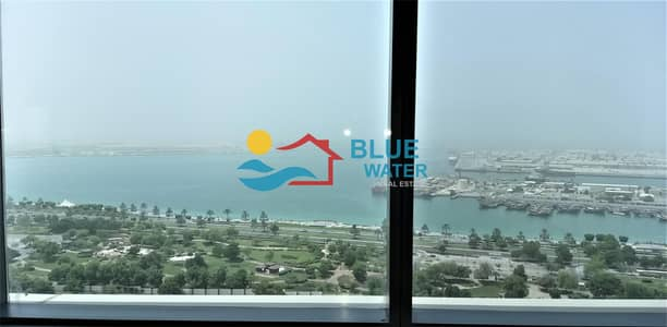 3 Bedroom Apartment for Rent in Al Mina, Abu Dhabi -  with All Facilities & Parking