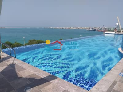 4 Bedroom Apartment for Rent in Corniche Road, Abu Dhabi - Sea View