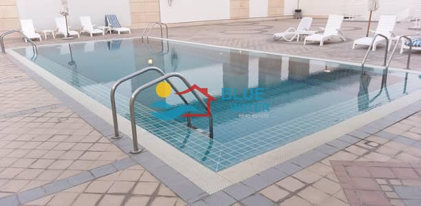 2 Bedroom Flat for Rent in Al Nahyan, Abu Dhabi - Stunning 2 BHK | Parking | Swimming pool | Gym