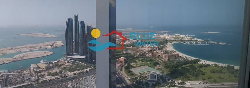 2 Bedroom Flat for Rent in Corniche Area, Abu Dhabi - No Commission ! Stunning 04 Bedroom apartment with Sea View + 2 Parkings