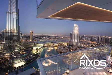شقة 3 غرف نوم للبيع في وسط مدينة دبي، دبي - Premium Lifestyle 3 Bed - Full Downtown View | Highest Floor | Exclusive Unit