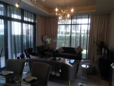 فیلا 3 غرف نوم للبيع في داماك هيلز (أكويا من داماك)، دبي - Single Row Rare THM Brand New Best Location
