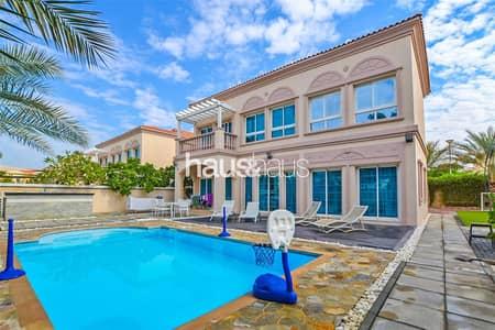 فیلا 3 غرف نوم للبيع في مثلث قرية الجميرا (JVT)، دبي - Extended 3 Bedroom | District 9 with Private Pool