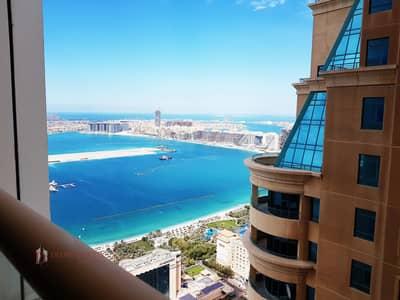 شقة 2 غرفة نوم للايجار في دبي مارينا، دبي - High floor | Partial sea |Well maintained