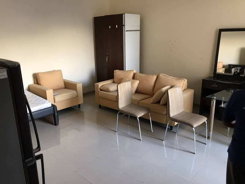 Perfect Studio with Balcony walkable distance to Shabia 10 Public Park Unfurnished