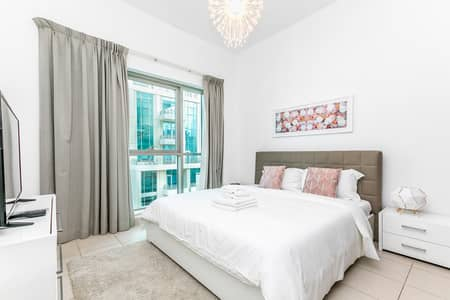 Studio for Rent in Downtown Dubai, Dubai - Chic And Clean Studio in Boulevard Central Downtown