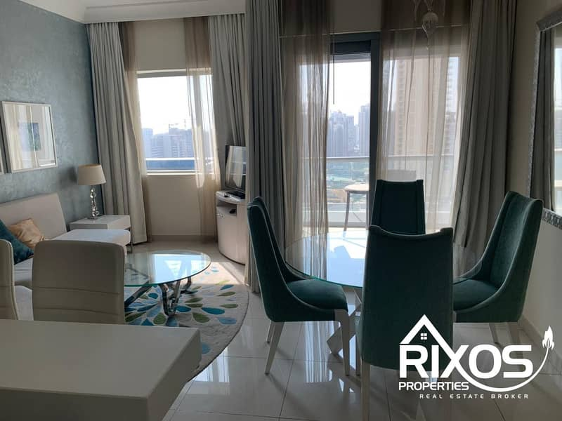 12 1BHK FOR RENT IN DAMAC SIGNATURE DOWNTOWN CHILLER FREE