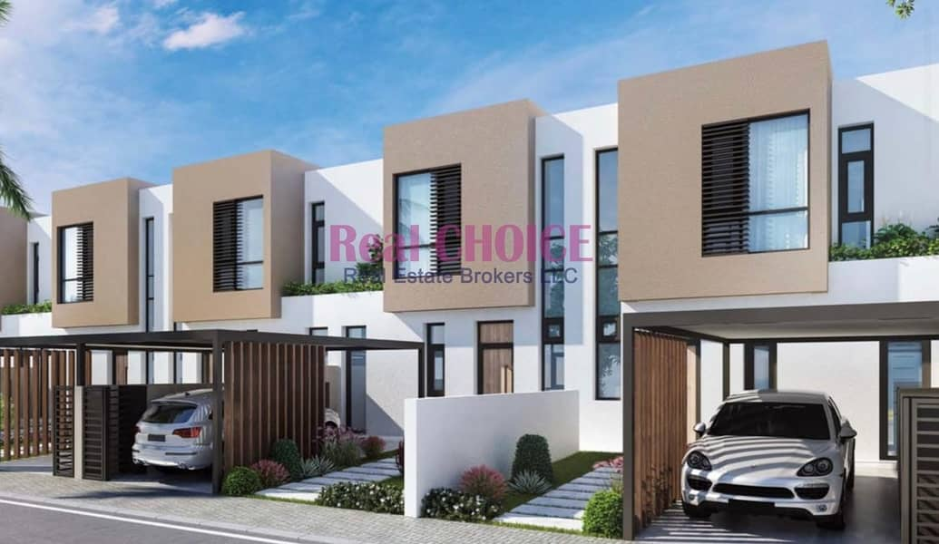 9 Own Town house in Sharjah | 0  service charge for life