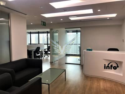 Office for Rent in Jumeirah Lake Towers (JLT), Dubai - Furnished office for Rent in JBC-1