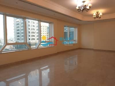 3 Bedroom Flat for Rent in Al Danah, Abu Dhabi - NO COMMISSION | Huge size | 3 Bedroom | Maids room | Balcony