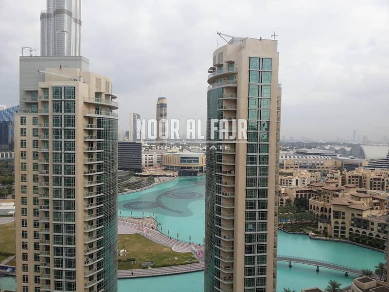 Burj Khalifa and Fountain View | 2 B/R
