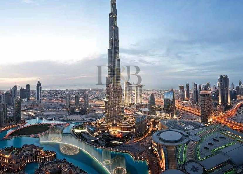10 FULL BURJ AND FOUNTAIN VIEW | 5 YRS PHPP