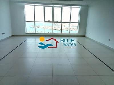 فلیٹ 3 غرف نوم للايجار في منطقة النادي السياحي، أبوظبي - No Commission Luxurious  3 BR+Maid's And Facilities
