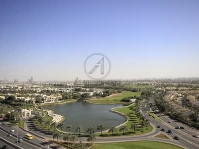 2 Bedroom Flat for Rent in The Hills, Dubai - Lake and Montgomerie View