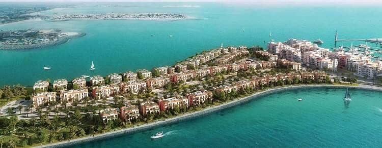 2 Amazing Sea Facing Villa at La Mer with Dubai Skyline View