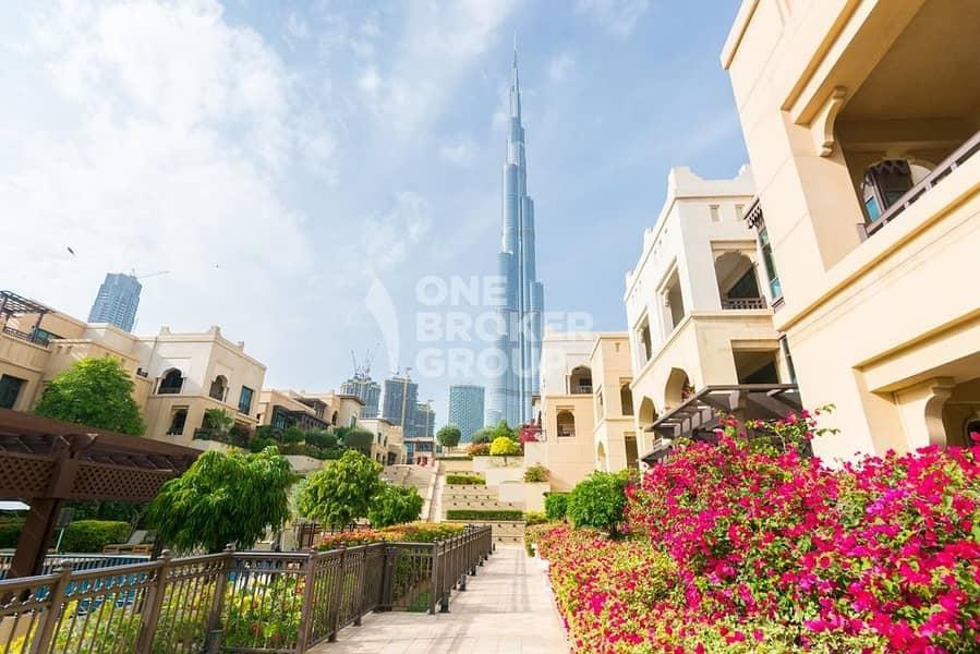 1 BR Suite -Terrace Garden w/ Burj Khalifa View