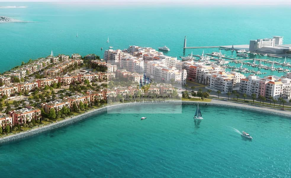 2 3-storey villa in Jumeirah 1 with excellent prices.