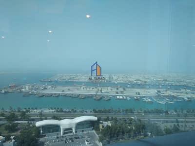 فلیٹ 3 غرف نوم للايجار في منطقة النادي السياحي، أبوظبي - Cozy Sea View Apartment