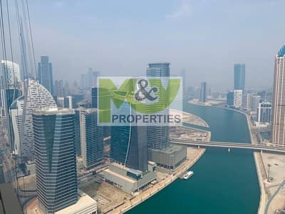 2 Bedroom Apartment for Sale in Business Bay, Dubai - Exceptional high floor largest layout (07) 2Br