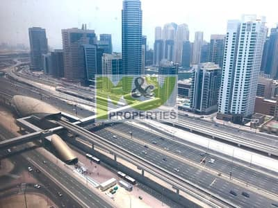Office for Sale in Jumeirah Lake Towers (JLT), Dubai - High floor office in Saba 1 - Investor deal