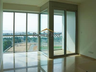 فلیٹ 1 غرفة نوم للايجار في مدينة زايد الرياضية، أبوظبي - Beautiful Apt Overlooking Water View Near City!