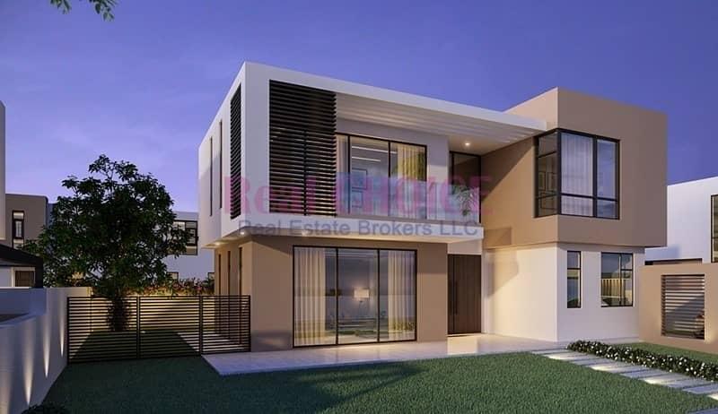 Luxury 5 Bedroom Villa   5 % DP  0 Service charge