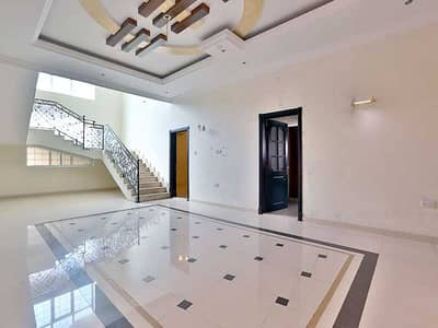 7 Bedroom Villa for Rent in Shakhbout City (Khalifa City B), Abu Dhabi - Awesomely Spaced 7BR Villa with A Private Entrance !
