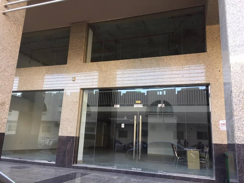 4,000 Square feet Showroom in Brand New Bldg. available in Al Wahda Street, Sharjah