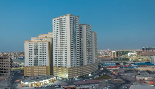 Studio for Rent in Ajman Downtown, Ajman - Beautiful  studio for rent in pearl towers ajman