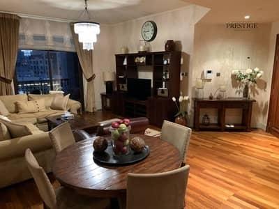 فلیٹ 2 غرفة نوم للايجار في المدينة القديمة، دبي - Furnished | Upgraded | with Study | Burj View