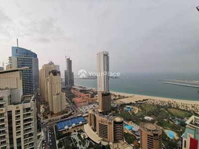 شقة 1 غرفة نوم للايجار في دبي مارينا، دبي - Bright Layout   Marina View   Multiple Cheques