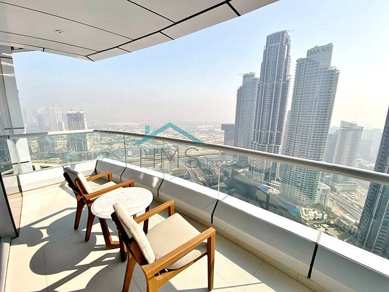 03 Type | Hotel Pool | Burj Khalifa & Fountain Views.