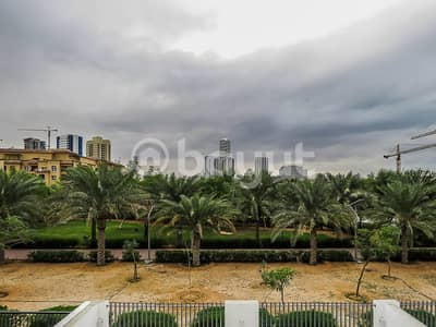 3 Bedroom Villa for Rent in Jumeirah Village Circle (JVC), Dubai - new townhouse with private garden and private pool overlooking garden