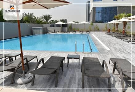 شقة 2 غرفة نوم للايجار في الخليج التجاري، دبي - شقة في برج فيزول الخليج التجاري 2 غرف 93000 درهم - 4454964
