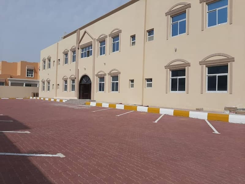 brand new and first tenant huge one bedroom in khalifa city b close to  hypermarket .