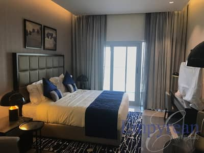 Studio for Rent in Business Bay, Dubai - Pool View  Brand New Fully Furnished Apartment near Dubai Mall
