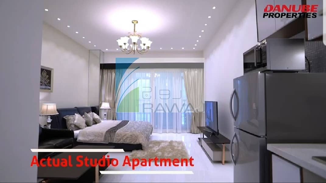 2 500 aed studio for sale pay in 1% monthly installment No commission  Direct from Developer