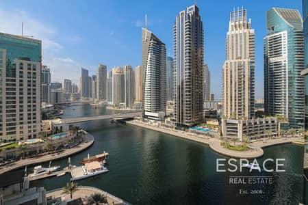 فلیٹ 2 غرفة نوم للبيع في دبي مارينا، دبي - 2 Bed | Maid | Study | Storage | Vacant