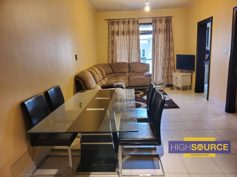 Furnished 1 Bed with Burj khalifa View in Old Town.