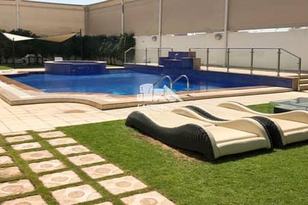 5 Bedroom Villa for Sale in Al Bateen, Abu Dhabi - Elegant Villa With Outside Two Majlis and Pool