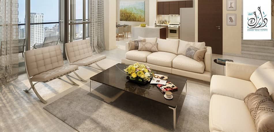 2 Business bay apartment with payment plan on 5 years