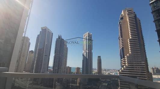 شقة 1 غرفة نوم للايجار في دبي مارينا، دبي - Free a/c  Marina /Sea View Marina Tower Emaar