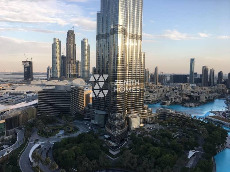 Panoramic Burj & Fountain View |Biggest 2BED