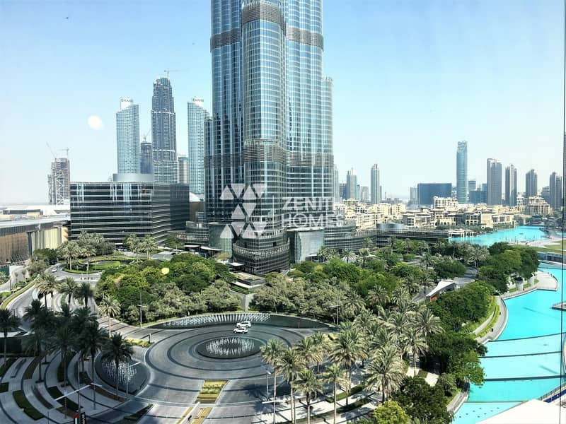 11 Panoramic Burj & Fountain View |Biggest 2BED