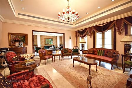 6 Bedroom Villa for Sale in The Meadows, Dubai - Stunning L2 | Upgraded | Lake view