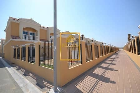 Corner One Bedroom Hall Townhouse with Landscaped Garden for Rent at JVC