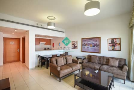 فلیٹ 1 غرفة نوم للايجار في الروضة، دبي - Fully Furnished | 1 Bedroom Hall | In The Greens