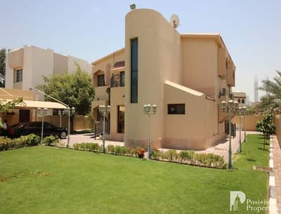 4 Bedroom Villa for Sale in Jumeirah, Dubai - 4 BR | G+1 Private Villa | Green Garden