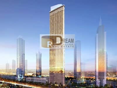 2 Bedroom Hotel Apartment for Sale in Business Bay, Dubai - Owning an apartment for housing or investment hotel on Khalifa Tower in 10% down payment