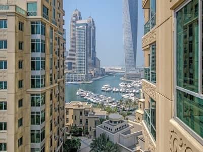 4 Bedroom Flat for Sale in Dubai Marina, Dubai - Marina & SZR View 4 BR W/ Maids Room -Rented